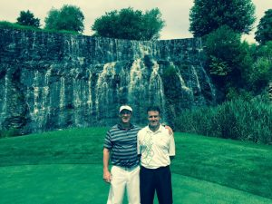 Bob Kaminski and Murat Agirnasli (Left to Right) at Trump National Club Westchester, New York
